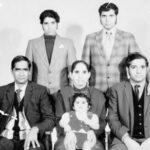 Front: Gurdial, Harban Kaur, Gurdev. Back: Jagtar and Tarsem Singh