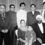 Resham, Sarjeet, Ranvir, Gurdev, Tarsem, Mohinder Kaur and Jagir Singh - 1960s